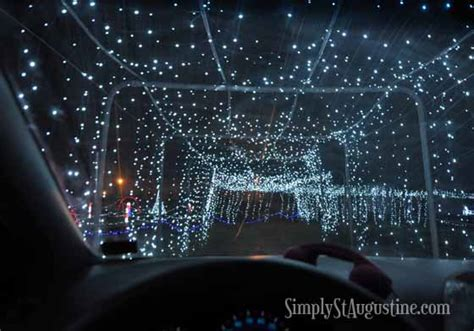 jacksonville drive thru christmas lights