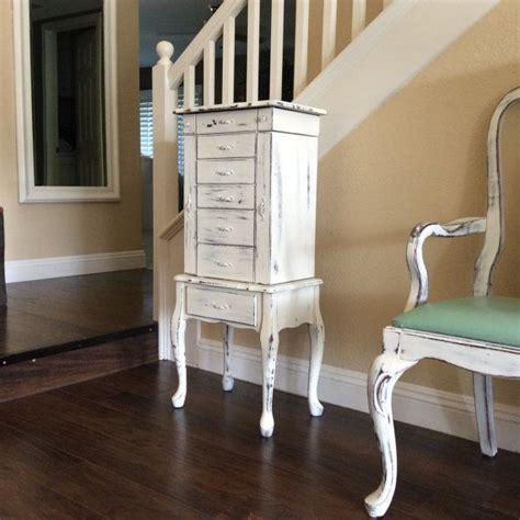 Large Jewelry Armoire Sale by Large White Jewelry Armoire For Sale Shabby Chic Jewelry