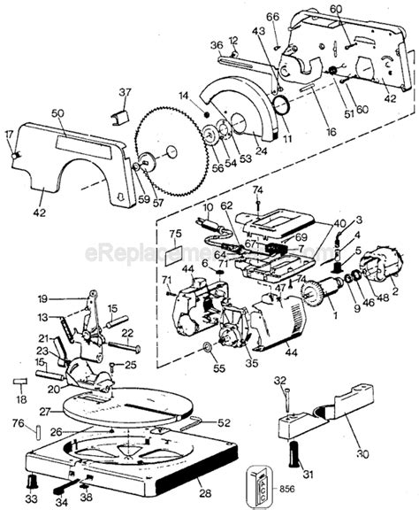 Black And Decker 9425 Parts List And Diagram Type 2