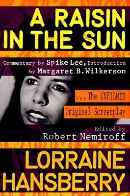 raisin   sun  unfilmed original screenplay