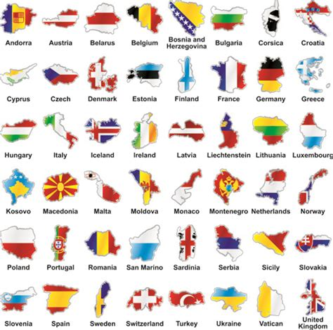 flags of the world vector eps countries flags and map design vector free vector in