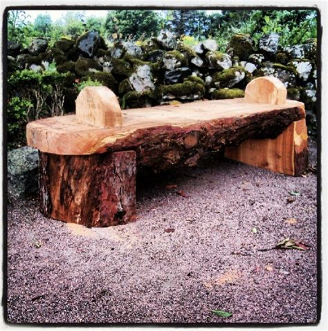 rustic wooden garden benches rustic benches speyside sculptor stuart murdoch