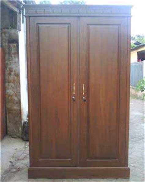 Lemari Kayu Jati Surabaya almari baju minimalis 2 pintu jati jepara lemari pakaian