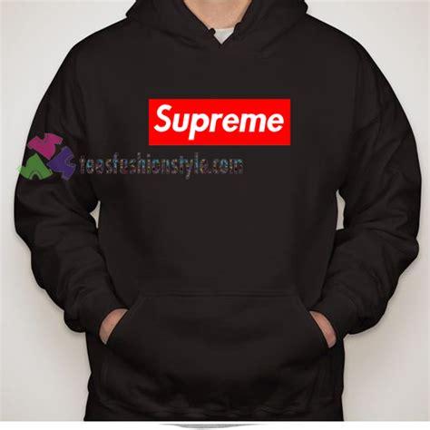 supreme clothing hoodie supreme logo hoodies sweater hoodie unisex