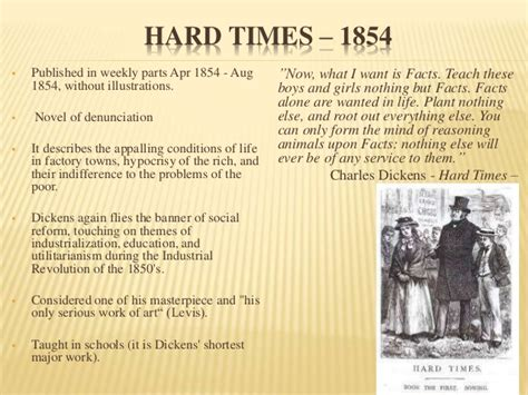theme of education in hard times charles dickens novels