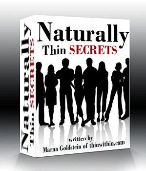 7 Secrets Of Naturally Slim by Do You Want 28 Easy Tips To Get You Thinking Thin Today