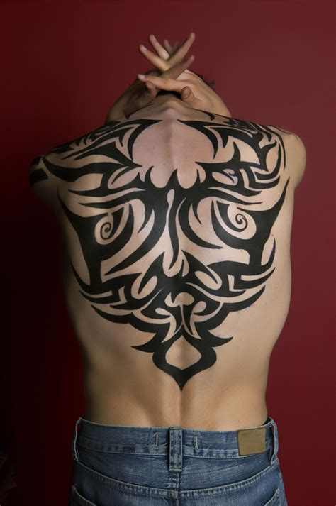 tattoo back tribal 30 amazing tribal tattoo designs for men
