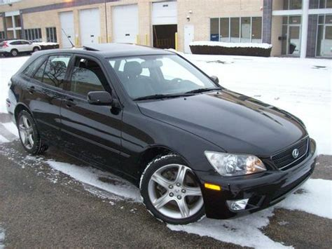 2005 lexus is300 photos 3 0 gasoline automatic for sale sell used 2005 lexus is300 sportcross wagon 4 door 3 0l in chicago illinois united states for