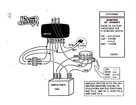 harbor fan capacitor wiring diagram free