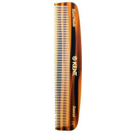 Kent The Handmade Comb - kent handmade comb 7t 143 mm toothed pocket comb