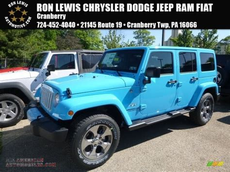 jeep wrangler chief for sale 2017 jeep wrangler unlimited sahara 4x4 in chief blue