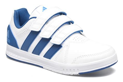 comfortably adidas lk trainer 7 sports shoes white