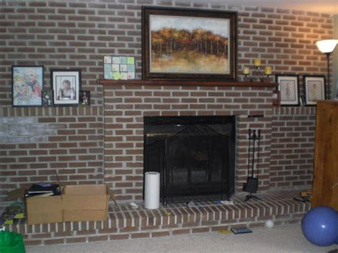 Kitchen Wallpaper Designs Ideas by How To Make A Quick Brick Fireplace Makeover Kvriver Com