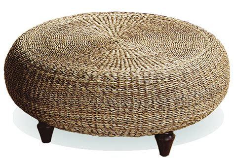 rope tire ottoman and the new black is sheila zeller interiors