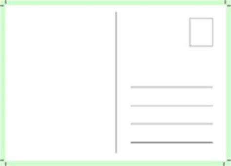 Postkarten Schreiben Muster Beispiel 1 Arbeitsblatt 2