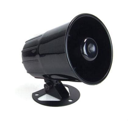 Horn Alarm Mobil auto alarm siren horn speaker buzzer melody siren 120db