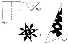 Make Fancy Paper Snowflakes - 1000 images about snowflake on paper