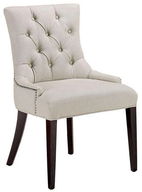 Nailhead Dining Room Chairs by 6 Ideas For Tufted Dining Room Chairs