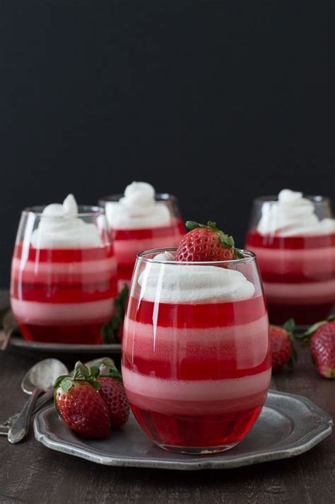 8 Watering Valentines Day Treats To Make by S Day Desserts Jello Cups Jello Desserts And