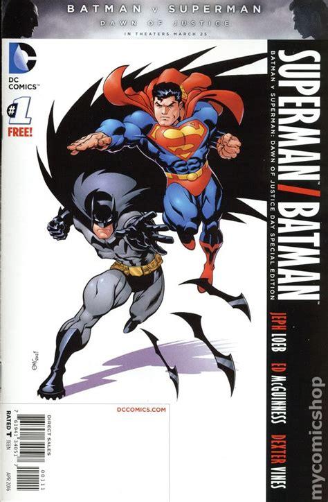 superman batman special edition 2016 dc comics comic books