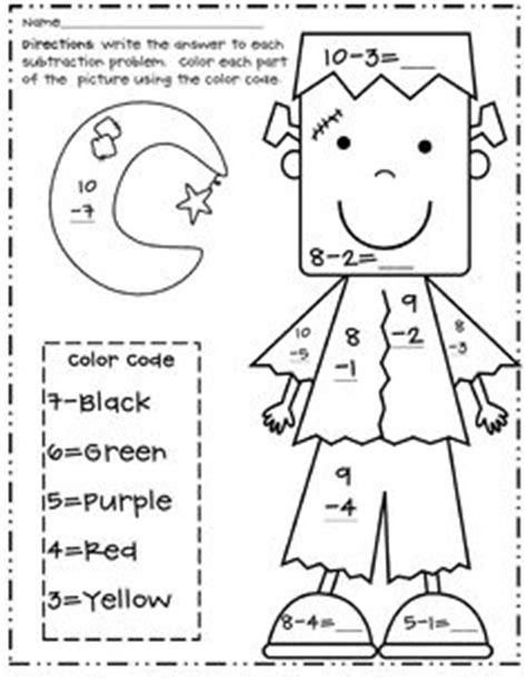 halloween coloring pages for first graders 1st grade math coloring worksheets halloween google