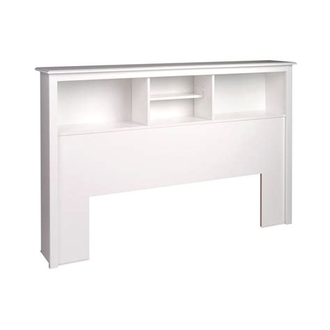 prepac headboard shop prepac furniture white full queen platform storage