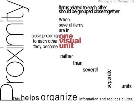 design elements proximity principle of design 02 proximity media media