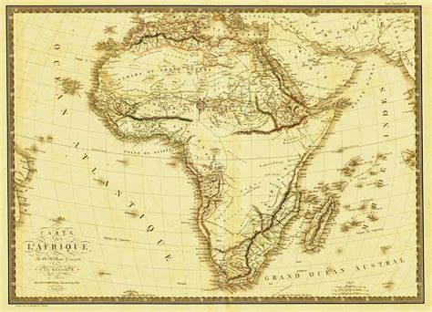 africa map 1800 map of africa from 1800 s