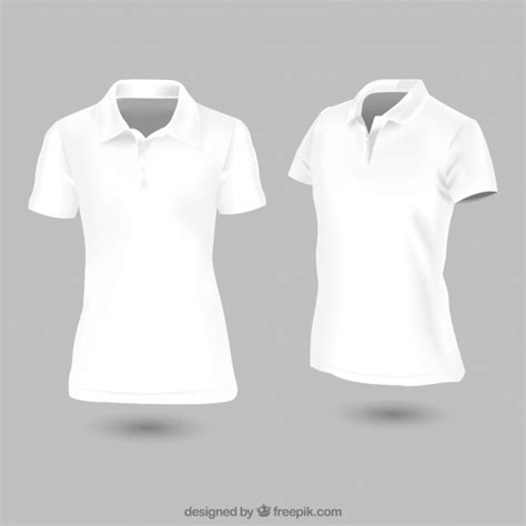 free polo shirt template white polo shirt template vector free