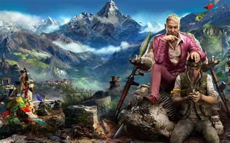far cry game wallpaper far cry 4 new game wallpapers hd wallpapers id 13589