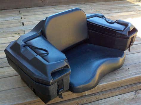 passenger seat for atv kimpex 169 passenger seat trunk storage 195 honda atv forum