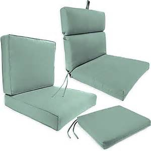 outdoor seat cushion collection in sunbrella 174 canvas spa bed bath amp beyond