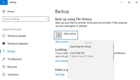 how to schedule an automatic backup in windows 108 7