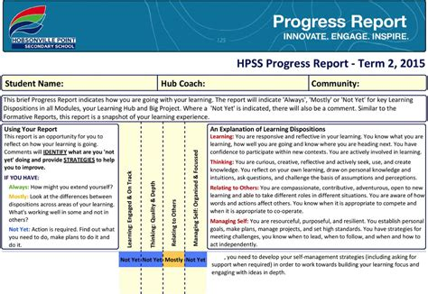study progress report sle sle comments for students report card 28 images 100