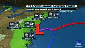 us east coast temperature map rocky coast news nhvt weather possible major nor