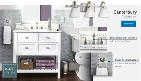 shop bathroom collections d 233 cor at lowe s