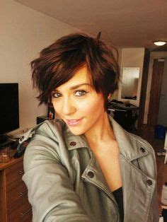 cute style ideas while your hair is growing out from chemo 1000 images about asymmetrical bob grow out on pinterest