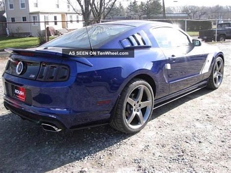 2013 5 0 mustang horsepower 2013 ford roush mustang gt coupe 2 door 5 0l