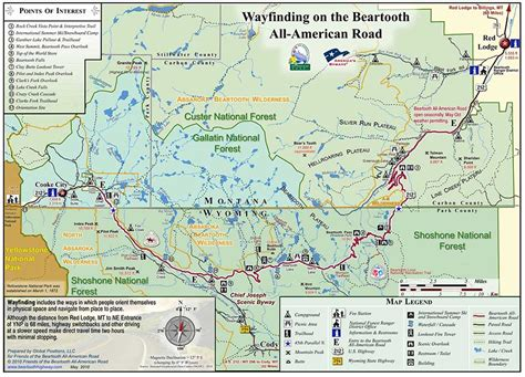 beartooth highway map beartooth highway on line maps beartooth highway