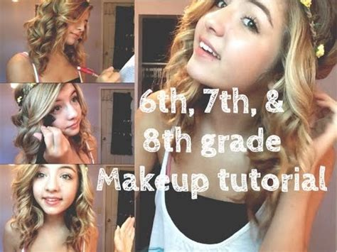 hairstyles for junior high school middle school makeup 6th 7th 8th grade make up