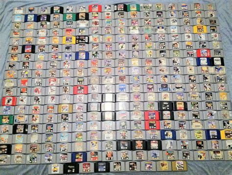 Nintendo 64 Collection 157 In 1 complete nintendo 64 collection all 296 american n64 ebay