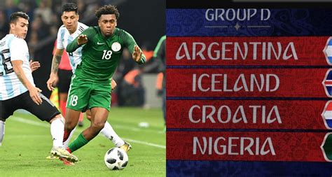 b ng d world cup 2018 fifa world cup 2017 draw nigeria to play argentina