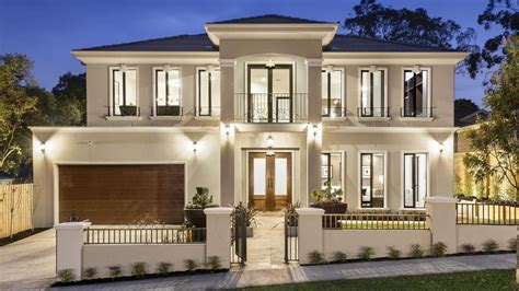 french provincial house designs the french provincial home at 20 landridge st glen waverley has a long list of