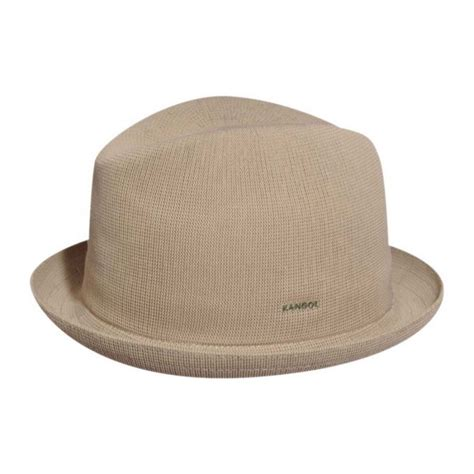 Hats To You by Kangol Tropic Playa Stingy Brim Fedora Hat All Fedoras
