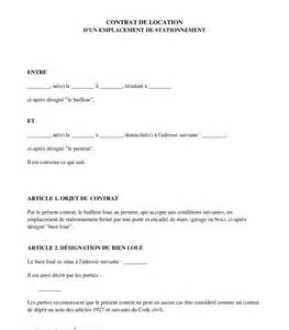 modele bail de location entre particuliers document