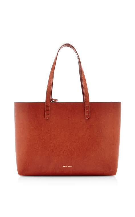 Vegetable Tanned South Tote vegetable tanned small tote in with avion by moda