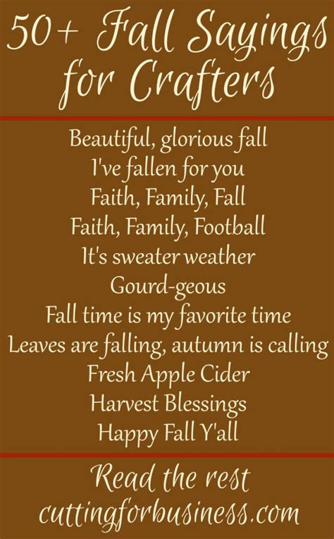 best 25 fall sayings ideas that you will like on