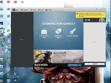 how to update uplay games ubisoft game launcher uplay 100 free download youtube