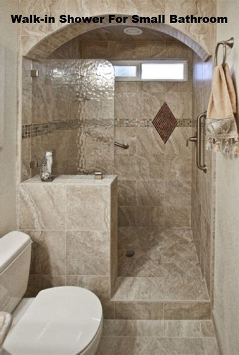 Small Bathroom Ideas With Walk In Shower | walk in shower designs for small bathroom