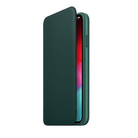 iphone xs max leather folio stormfront